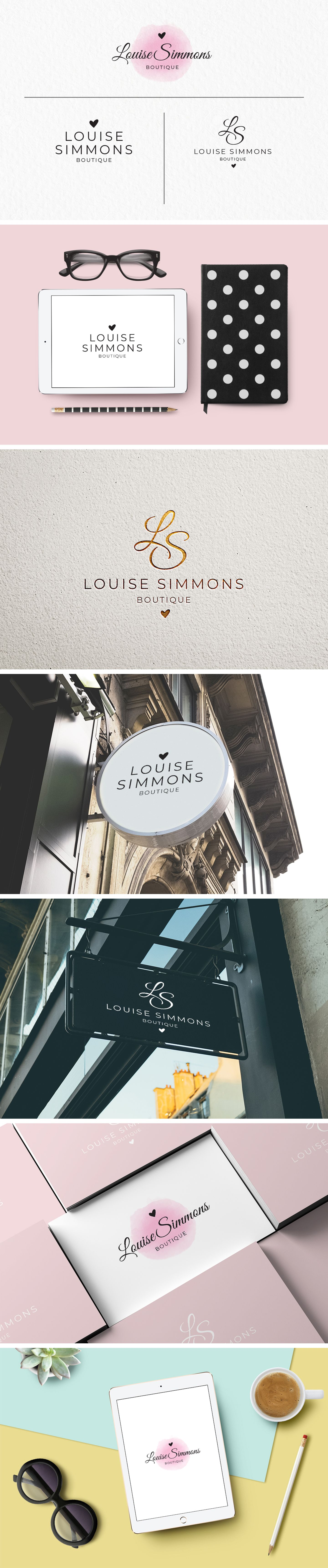 Pin by MinimalStudioCo on Logo Templates Logo templates