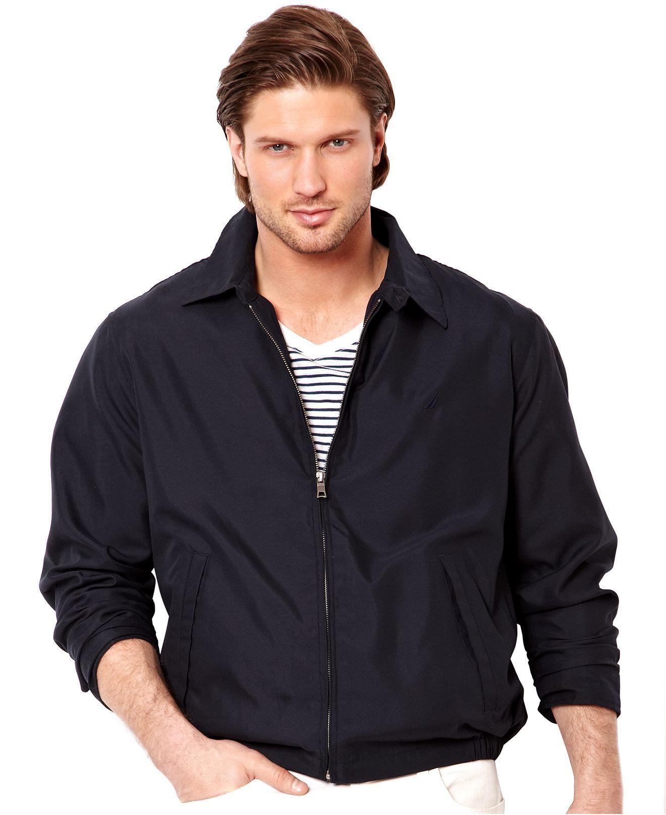 Nautica Jacket Anchor Bedford Jacket Coats Jackets Men Macy S Men Outerwear Casual Mens Jackets Men [ 1616 x 1320 Pixel ]