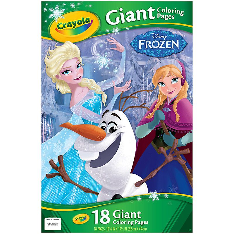 Buy Disney Frozen Crayola Giant Colouring Pages John Lewis Frozen Coloring Pages Frozen Coloring Disney Princess Coloring Pages