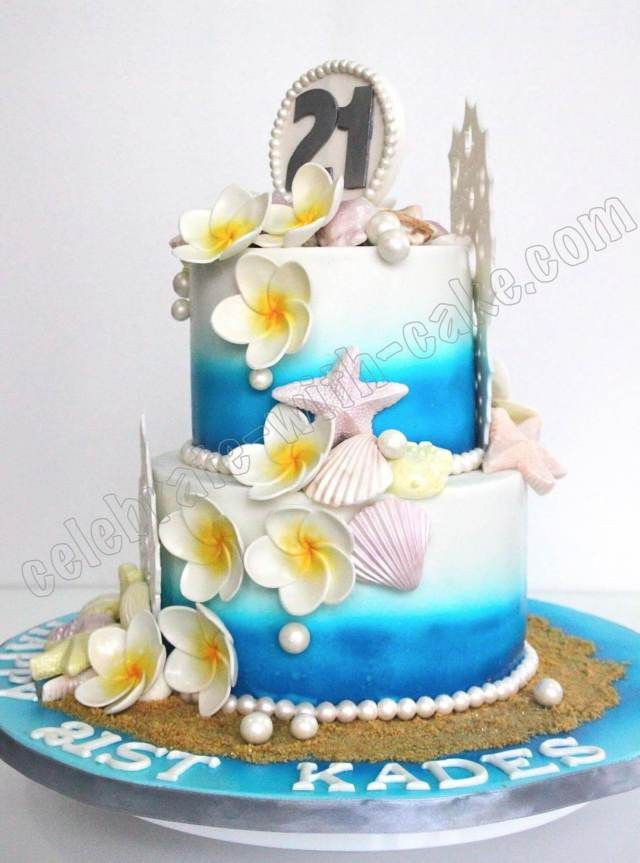 Hawaiian Themed Wedding Cake Toppers Wedding Ideas