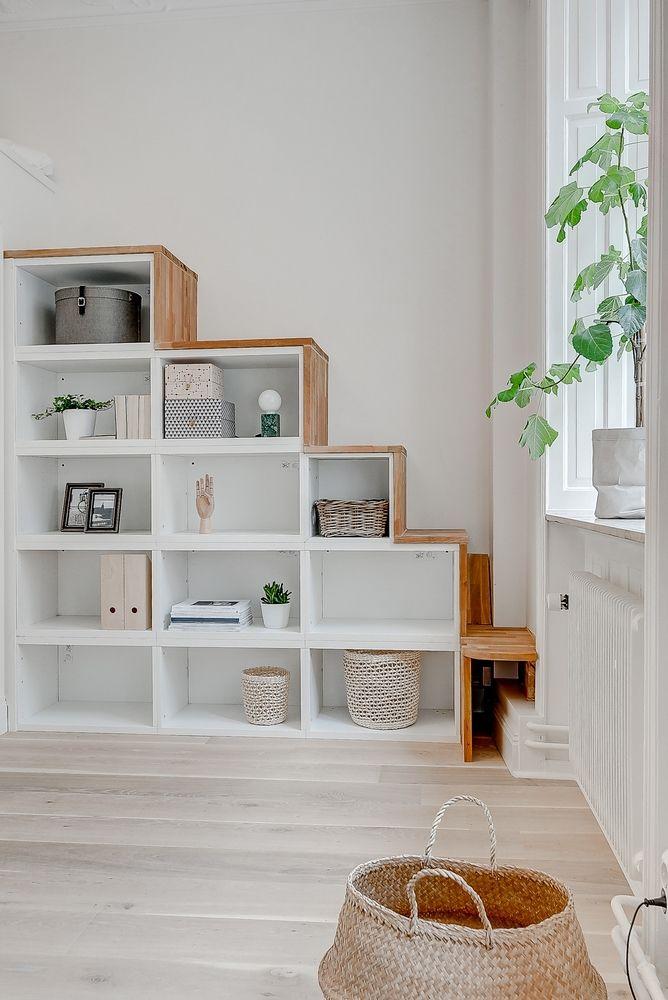 plus que joli escalier meuble escalier ikea detournement meuble ikea et mezzanine ikea