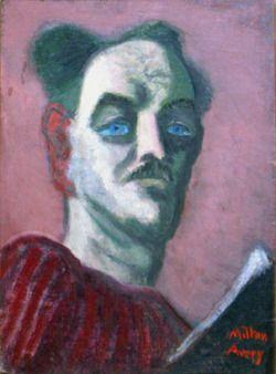 Milton Avery, self-portrait, ca. 1939