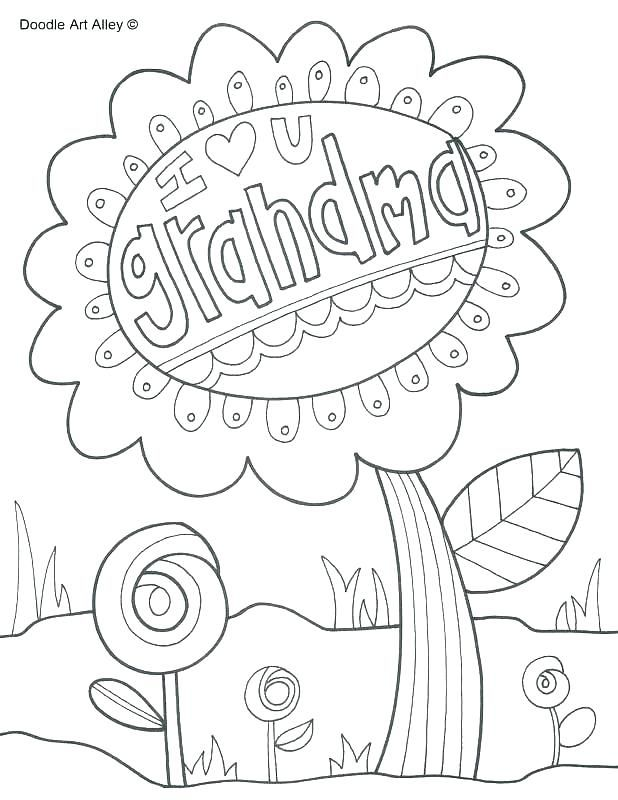 Coloring Pages Of Happy Birthday Happy Birthday Grandma Coloring Page Happy B Birthday Coloring Pages Happy Birthday Coloring Pages Mothers Day Coloring Sheets