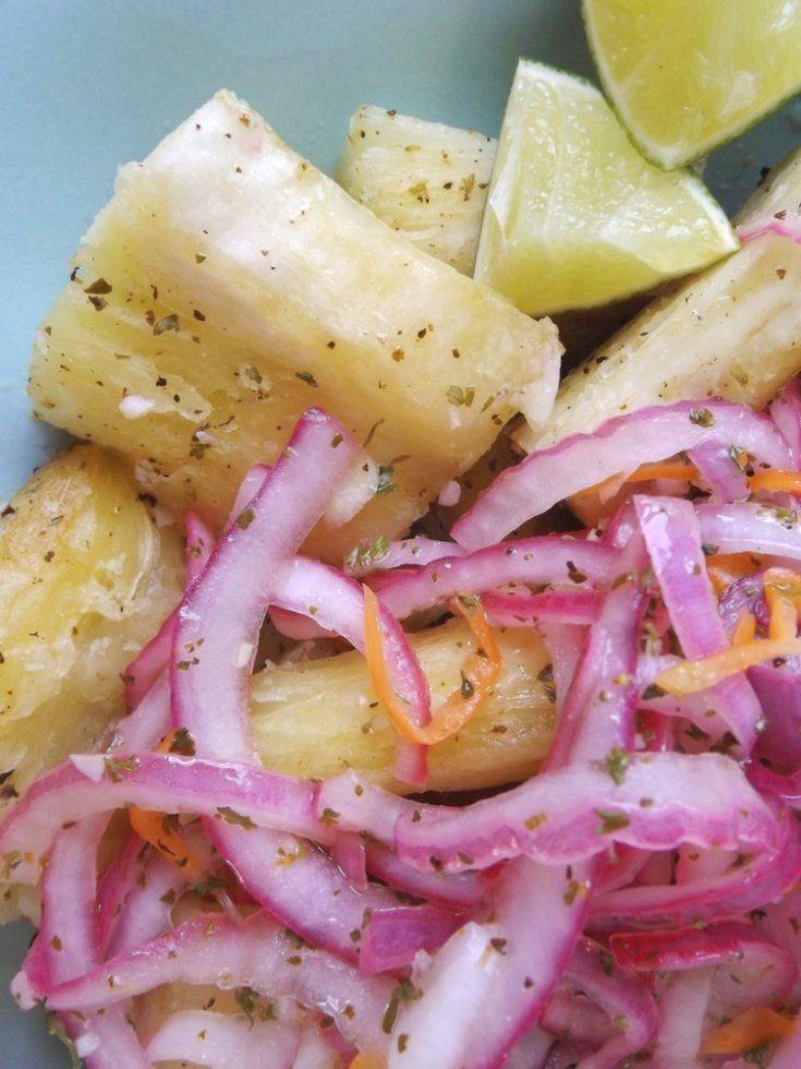 Yuca En Escabeche Pickled Yuca Salad