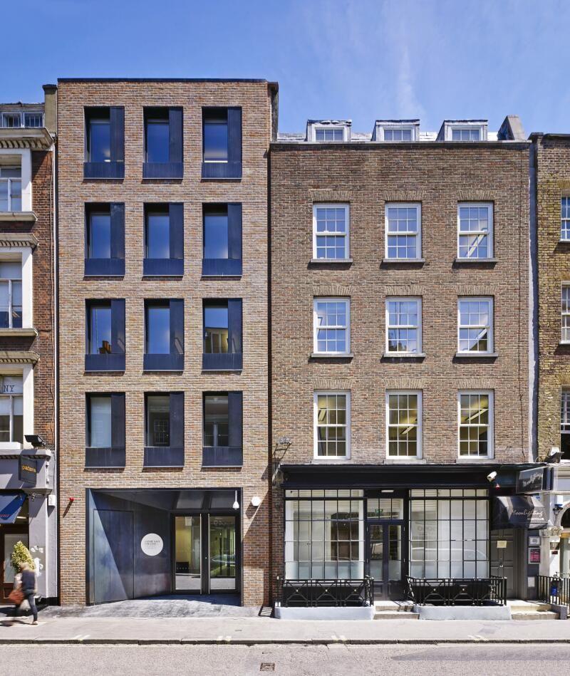 London Apartments Exterior: Building Facade, Brick Facade, Facade Design