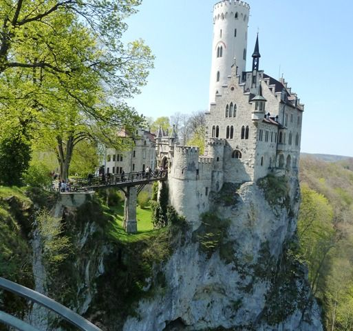 Lichtenstein Castle... straight out of a Fairy Tale!