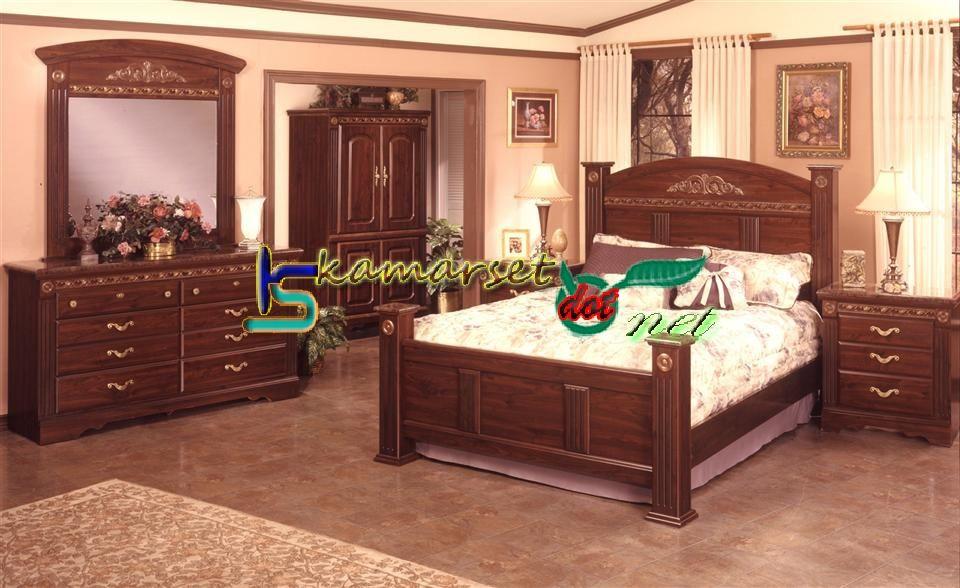 Tempat Tidur Hpl Mewah