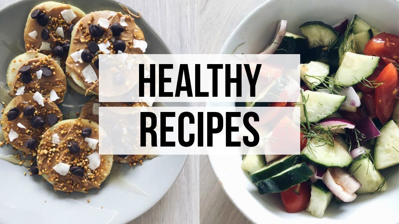 Three easy healthy recipes video description thank you for watching three easy healthy recipes video description thank you for watching my vlog give this one a thumbs up if youd like me to make more recipe videos forumfinder Choice Image