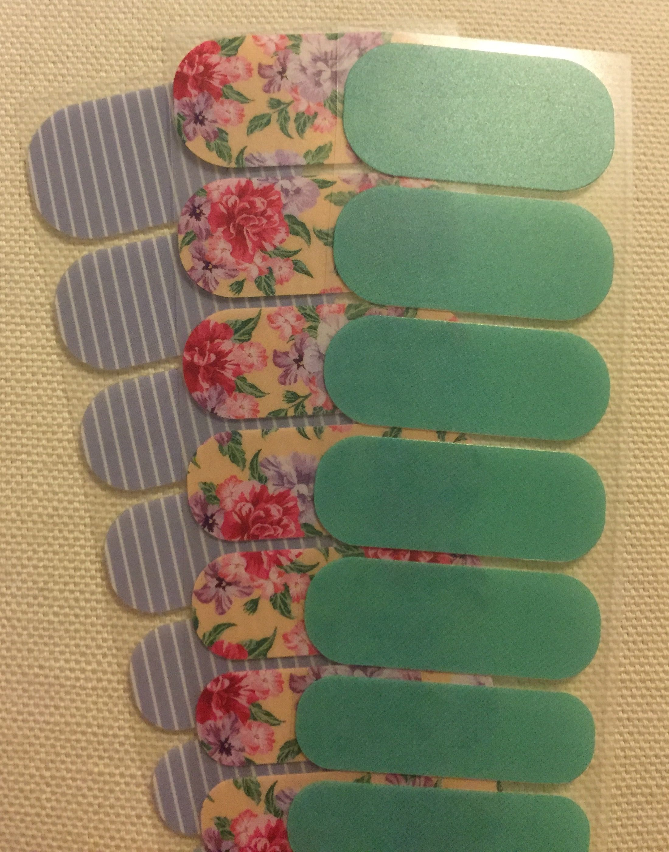 Jamberry Inspiration 2016 - Summer Cottage, Serenity Stripe and ...