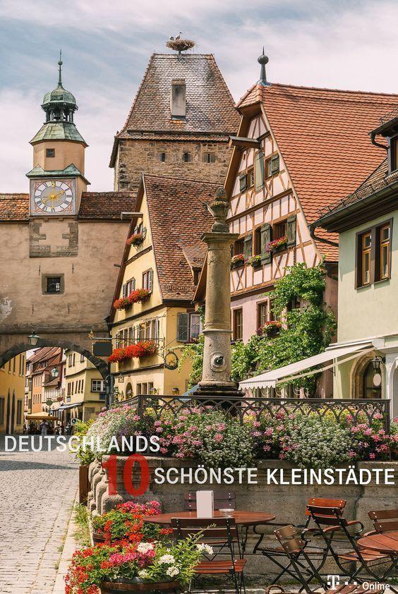 Das sind Deutschlands zehn schönste Kleinstädte