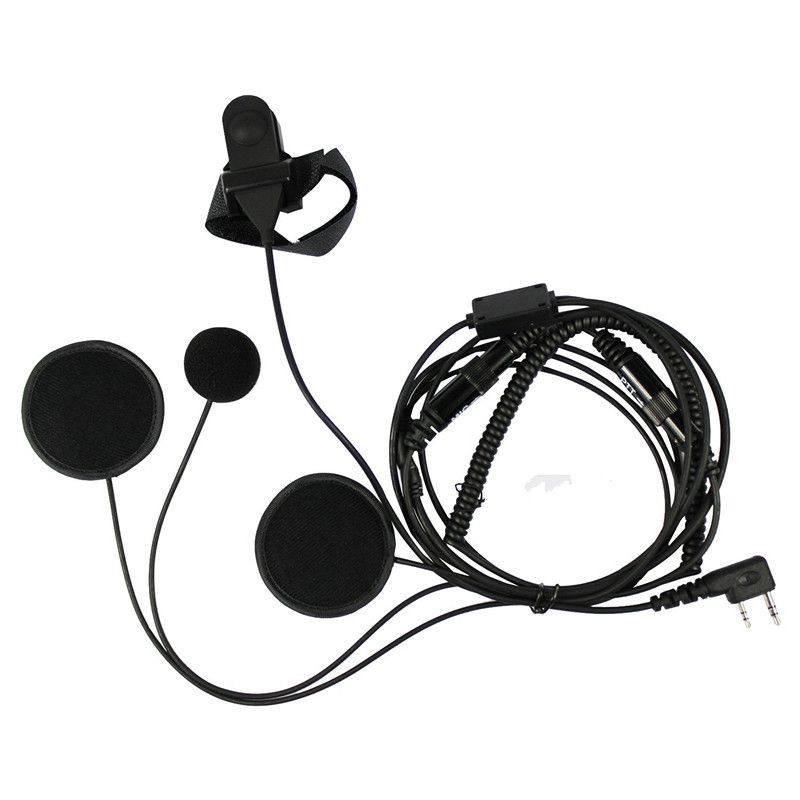 >> Click to Buy << Full Face Moto Motorcycle Bike Helmet Earpiece Headset Mic Microphone For Kenwood Two Way Radio TK3173/TK3200 BAOFENG UV-5R #Affiliate