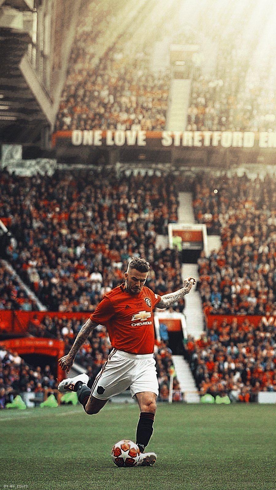 David Beckham David Beckham Wallpaper Manchester United Team David Beckham Manchester United