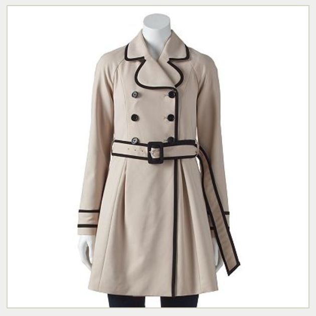 Lightweight trench coat jacket. Perfect to wear with Dresses!