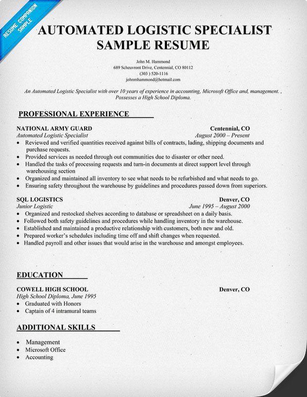 Resume Examples Diesel Mechanic Resume Examples Pinterest