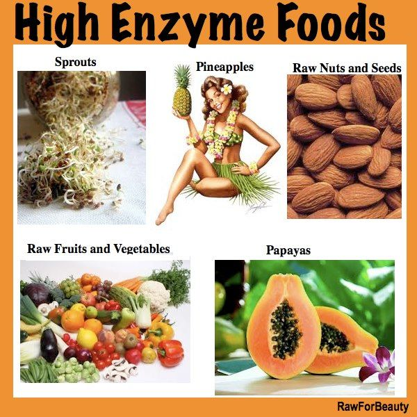 High Enzyme Foods | High enzyme foods, Health and ...