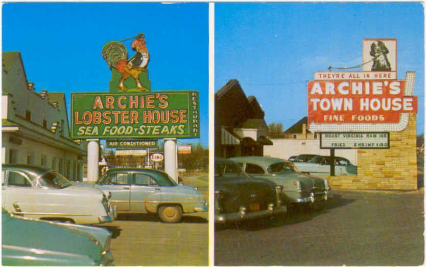old store signs in roanoke virginia Roanoke VA 1950s