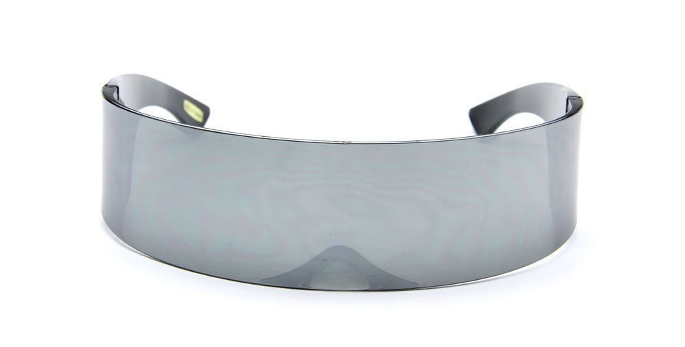Futuristic Mirror Sunglasses Cyclops Silver Shield Designer Fashion Style https://t.co/pZ9oBWBxu8 https://t.co/Yb58rci41g