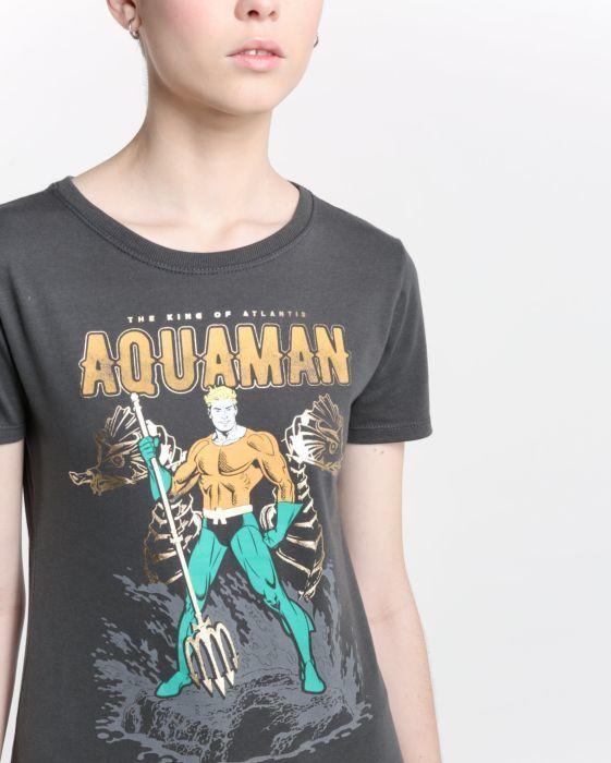 Camiseta Aquaman DC Comics  97ae5f3e89b