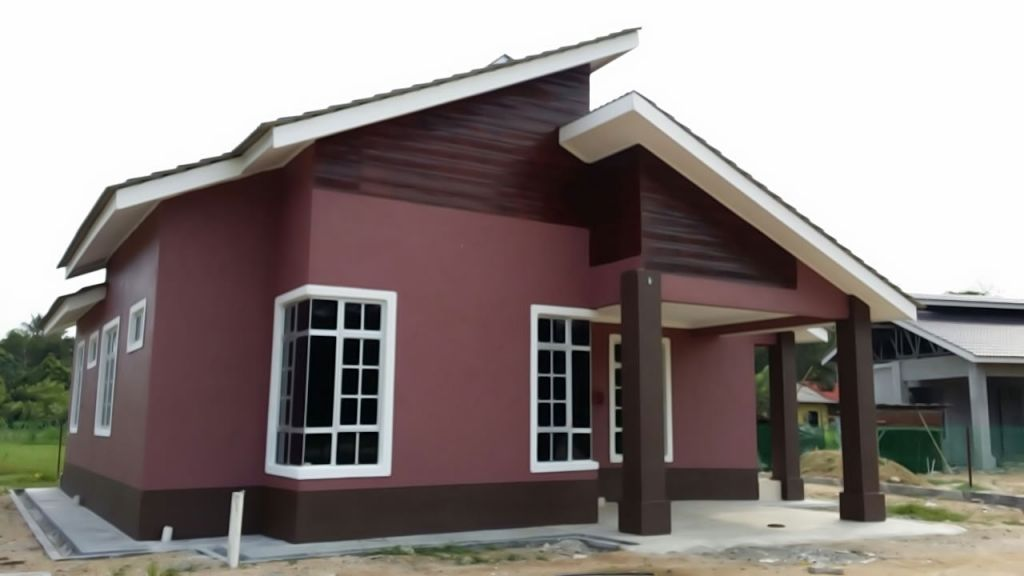 Reka Bentuk Rumah Kampung Dua Tingkat