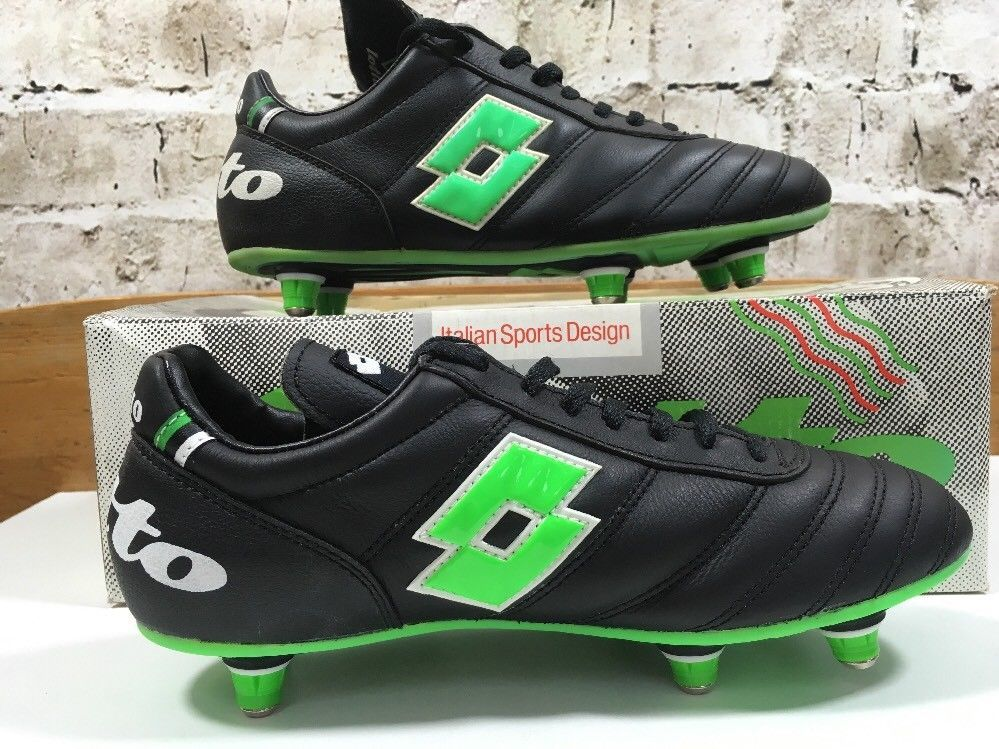 quality design 2d371 e03bc Vintage 1980s Lotto In Stadio football Soccer boots Uk 5 US 6 Eu 38 OG   eBay