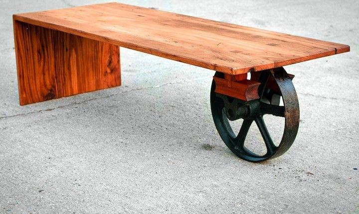 Top 7 mesas de centro Crafts-Wood Pinterest Centro, Mesas y - mesitas de madera