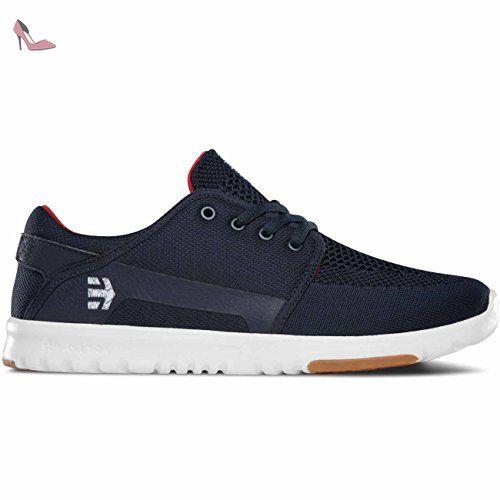Etnies Scout XT Shoes 43 EU Black White Red Fp2BD