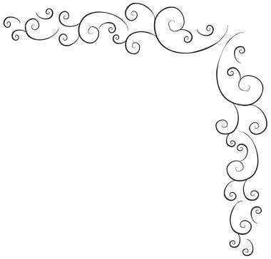 Vintage 9 swirl designs-swirl design swirl border 264 swirl is on