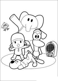 Dibujos De Pocoyo Para Colorear Y Pintar Imprimir Dibujos De Pocoyo Pocoyo Y Sus Amigos Pocoyo Dibujos Pocoyo