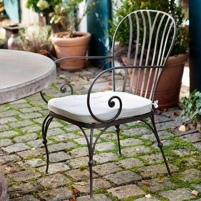 Stuhl San Leonardo aus Eisen