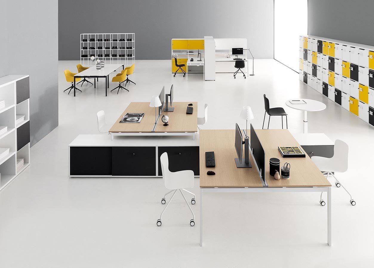 Meubles Décoration Bureau Open Space - DV802 - Della ...