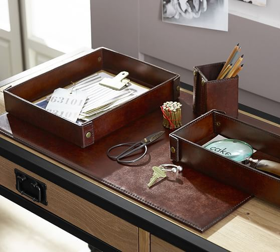 Pottery Barnu0027s Home Office Accessories And Desk Sets Creates Functional  Style To A Workspace. Find Desk Accessories And Make Home Office  Organization Easy.
