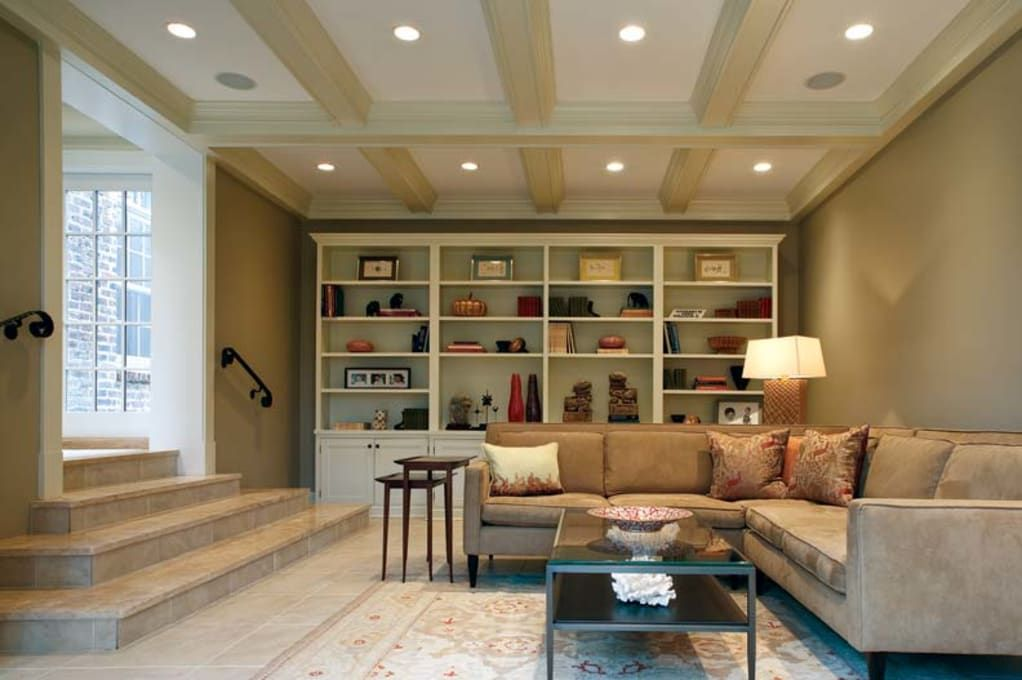 Photo of A Garage Turned Family Room