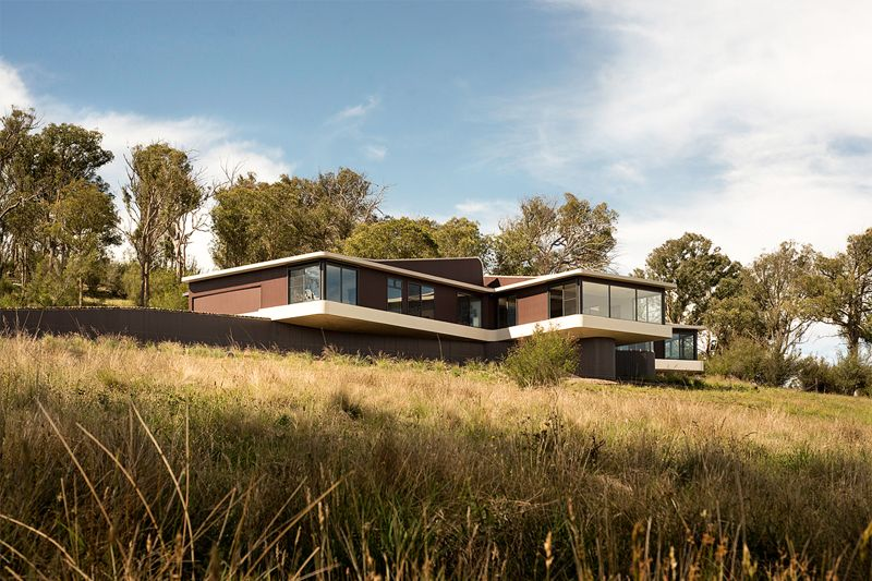 Modern Countryside House with Unique Views of the Meadows in ...