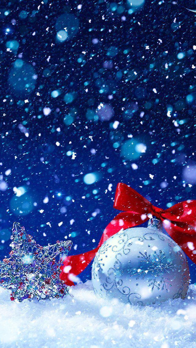 Youwall Winter Christmas Tree Wallpaper Wallpaperwallpapers Fond Ecran Noel Deco Noel Noel