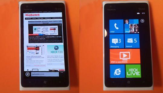 El Nokia Lumia 900 tiene una diseño único con una gran pantalla que sobresale y hace que Windows Phone pueda ser realmente una excelente alternativa para muchos. Adicionalmente, no existe un teléfono celular en Estados Unidos que tenga la potencia y calidad que tiene el Lumia 900 por tan solo US$99 dólares.