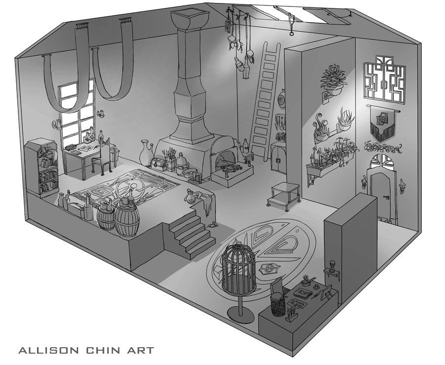 isometric level design - Google Search | Art of Level Design ...