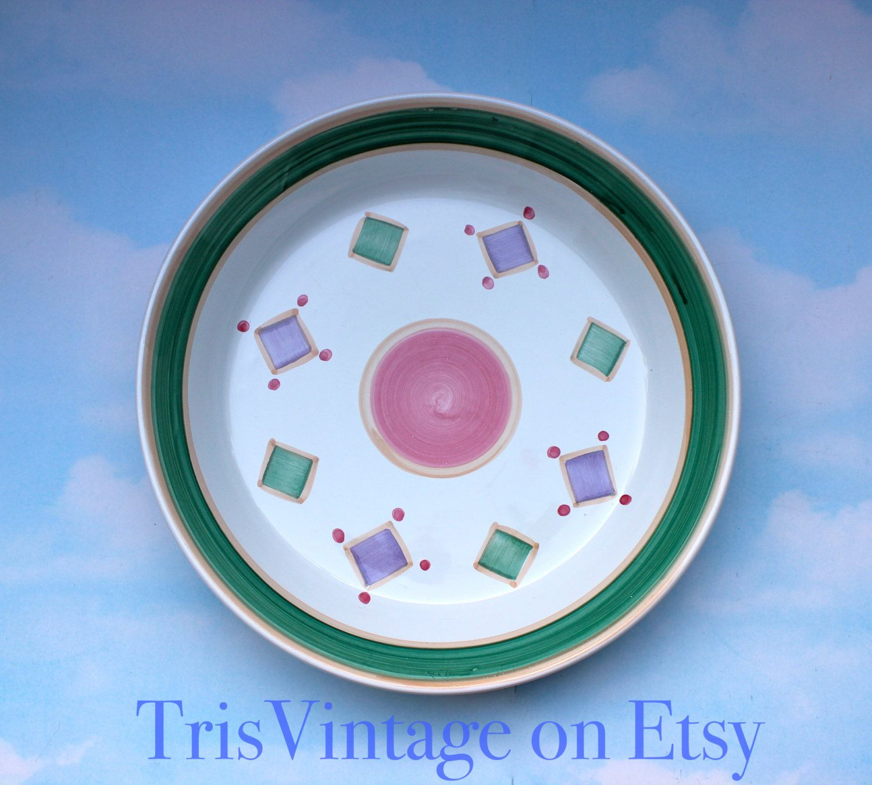 Vintage ~ Caleca ~ Italian Ceramic ~ Italian Pottery ~ Pasta Bowl ...