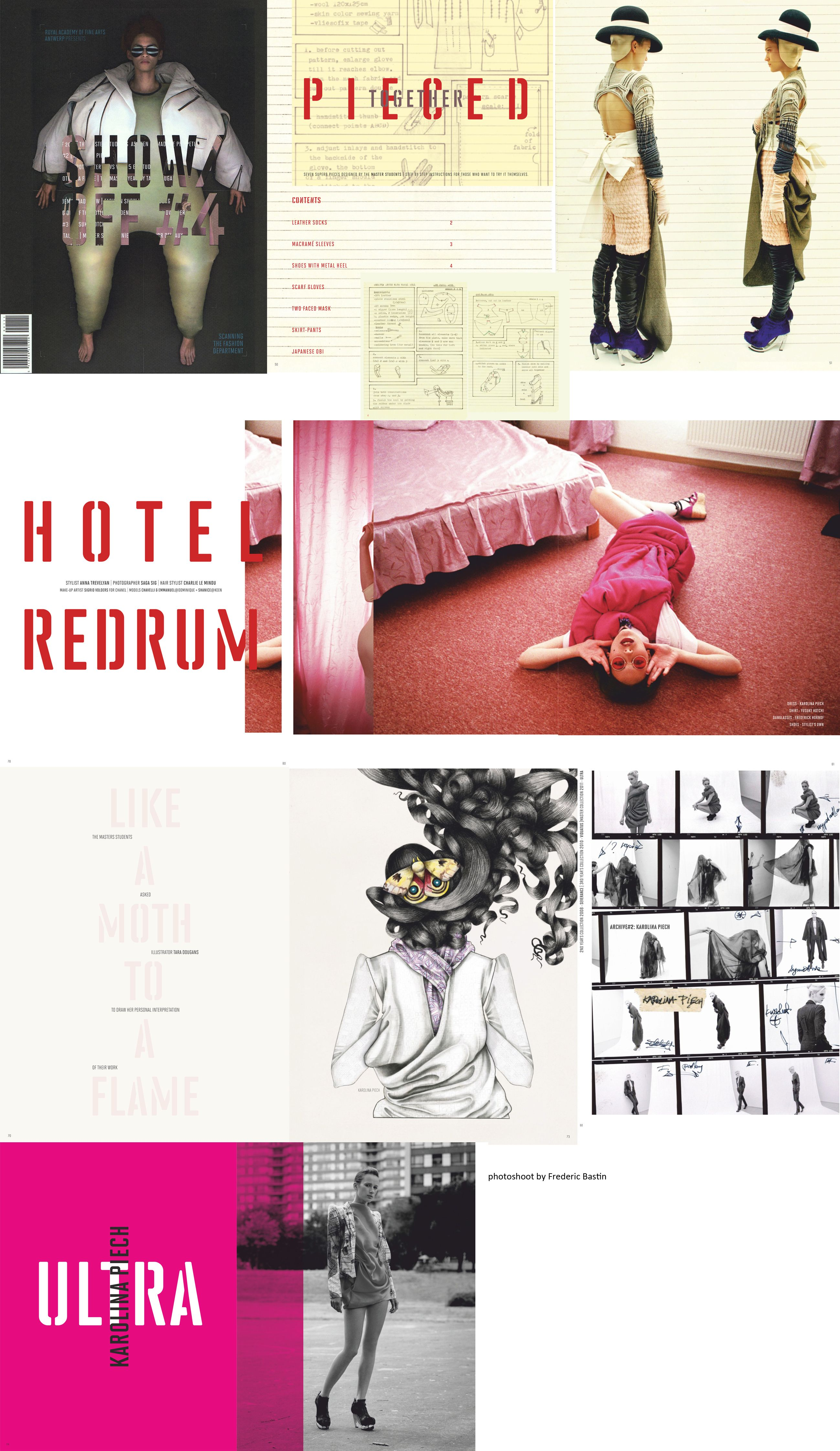 show off 4 magazine of the fashion department from royal academy rh pinterest com