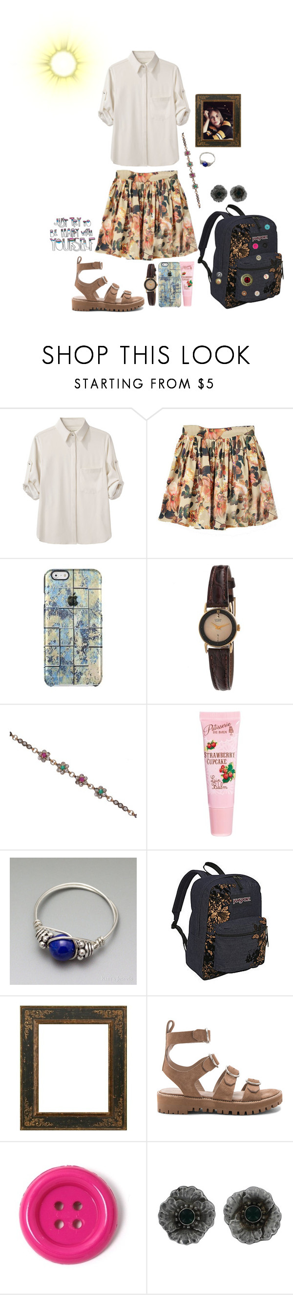 """Susan Teel 6"" by stockmon ❤ liked on Polyvore featuring rag & bone, American Apparel, ASOS, Lazuli, JanSport, AllSaints, Laurafallulah, Georg Jensen, 2017 and Stockmonset"