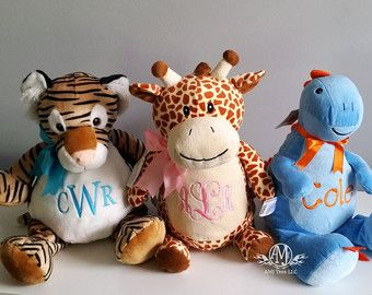 Personalized baby gift monogrammed baby gift personalized personalized baby gift monogrammed baby gift personalized stuffed animal stuffed giraffe dinosaur negle Gallery