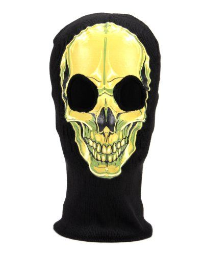 Black and silver BB Gun Full Face Protection T800 Terminator Skull Mask Prop