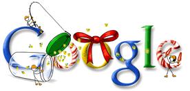 google noel logo google | Images: Logo de google pour Noël 2010 | logo google  google noel