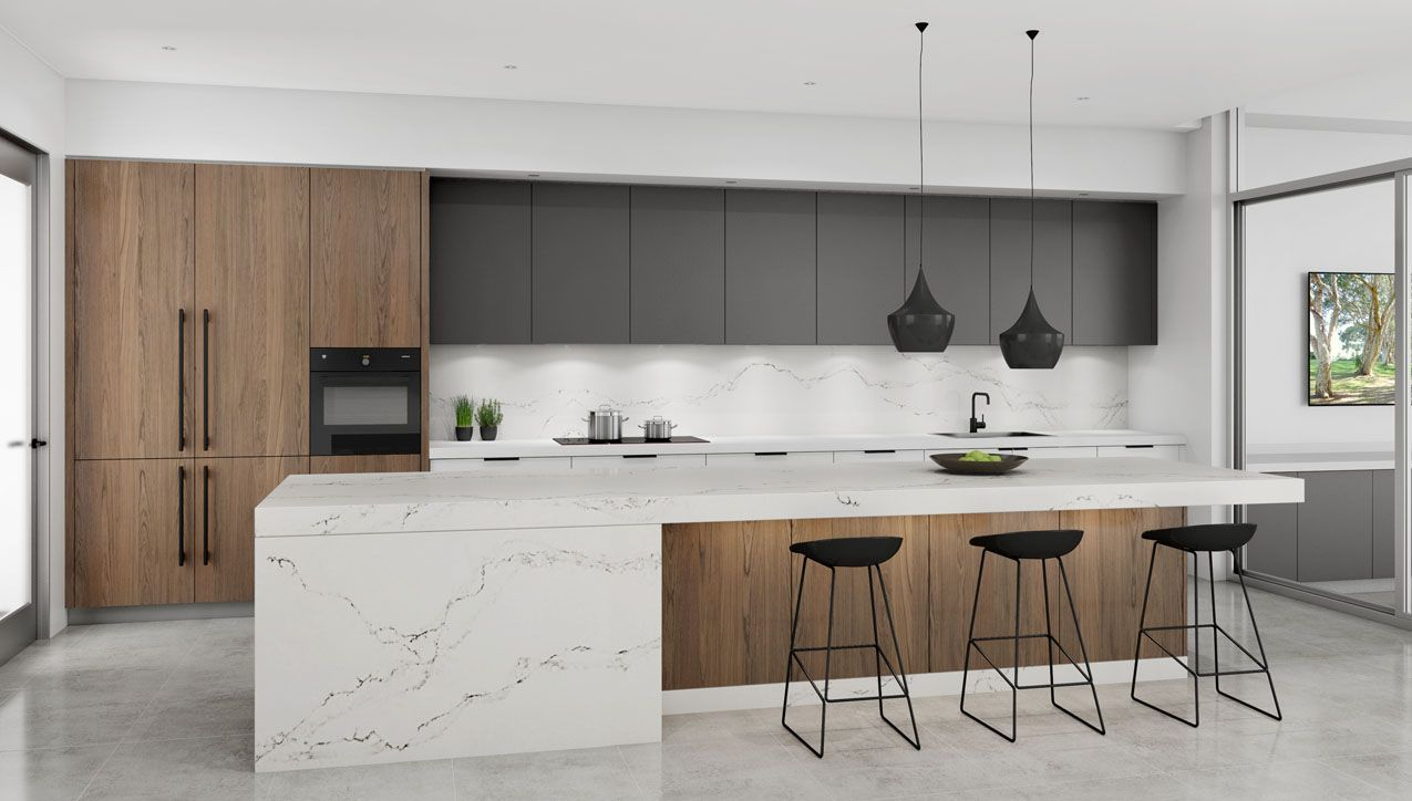 Open plan kitchen u0026amp scullery Parramatta