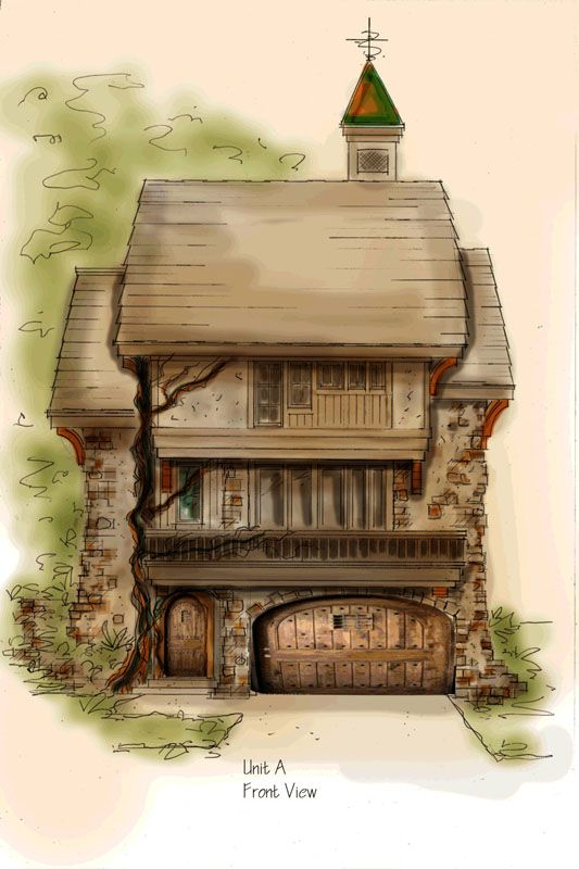 european cottage storybook style dream home fantasy house rh pinterest com