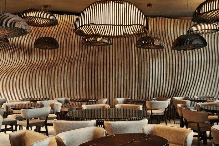 braune wandgestaltung braune neuancen vermitteln komfort - braune wandgestaltung im wohnzimmer ideen