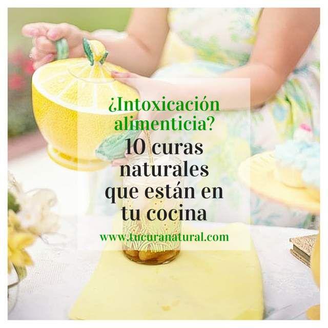 Cura natural para la intoxicación alimenticia