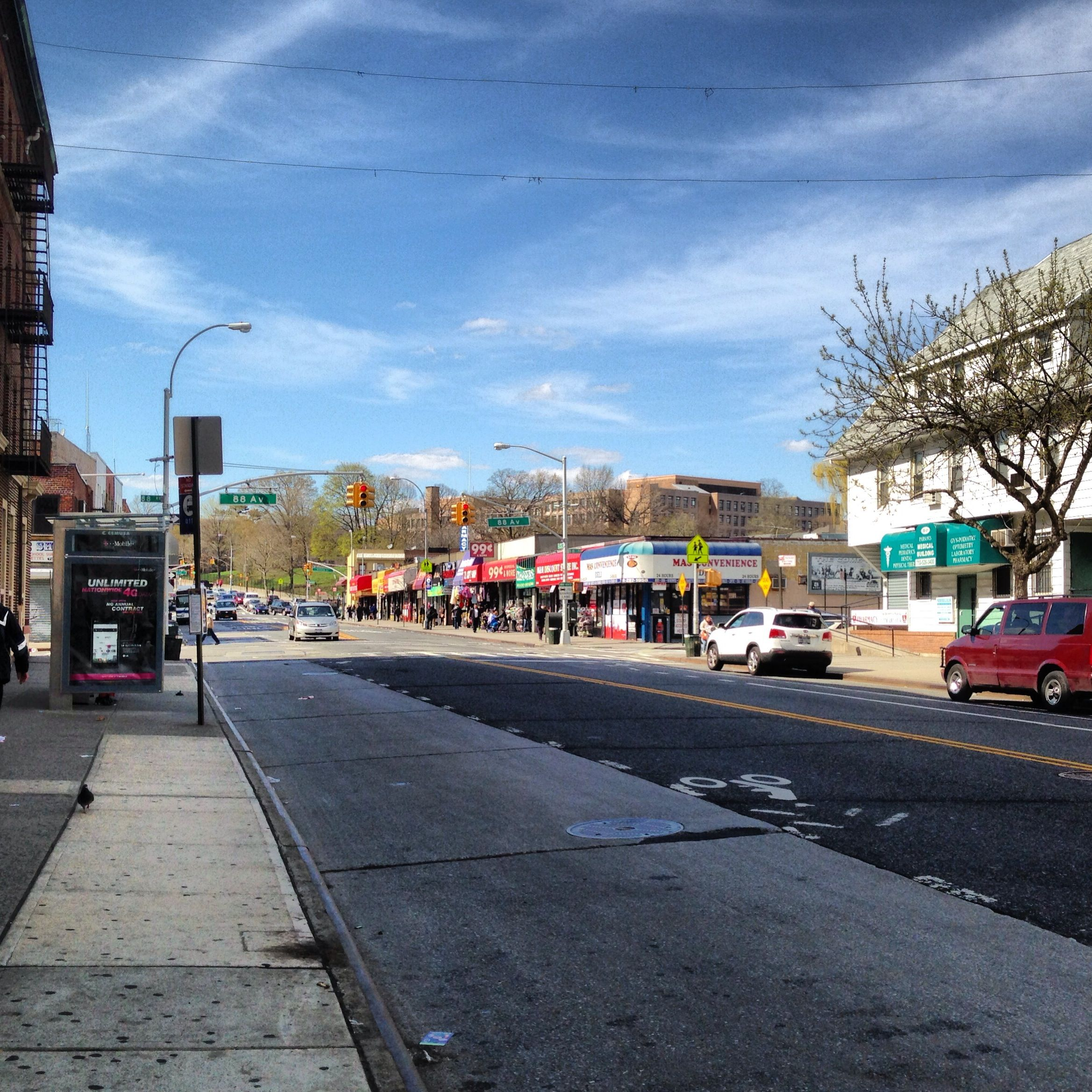 parsons blvd location jamaica queens  places in new