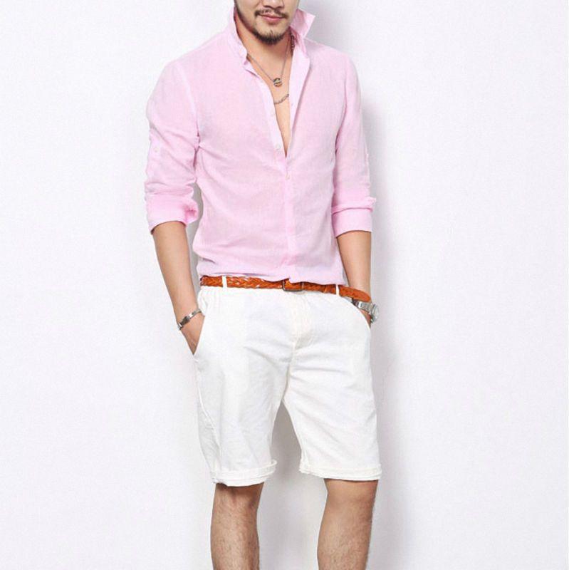 Camisas de hombres casual de verano cambray. | Moda masculina Rubén ...