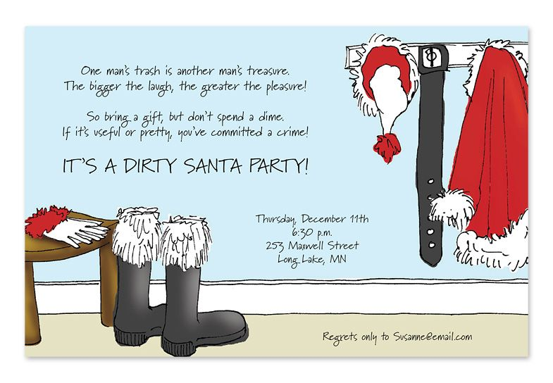 Funny Wording For Holiday Party Invitations Google Search