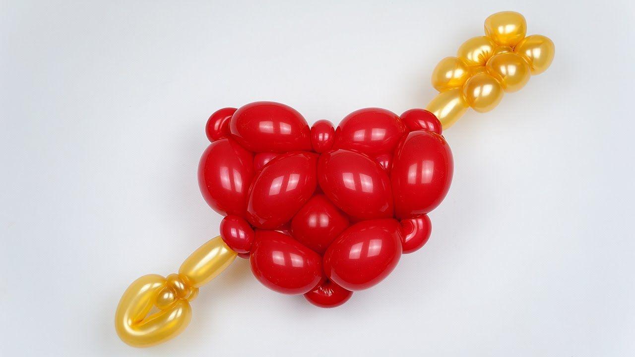 база сердце из шаров своими руками в картинках однолетника, декоративном садоводстве